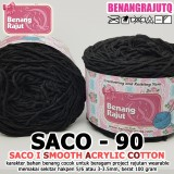 SACO90 I SMOOTH ACRYLIC COTTON-90 HITAM