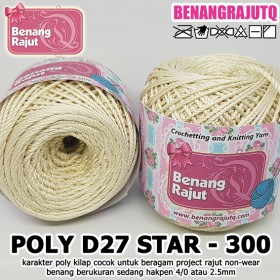 PD27S300 I POLY D27 STAR 300